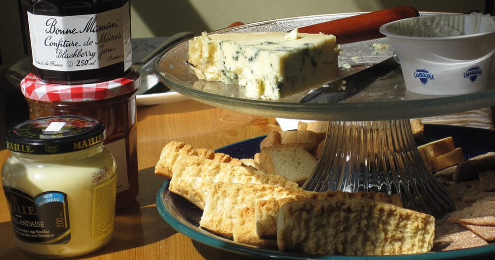 Our First Cheese Sampling Event