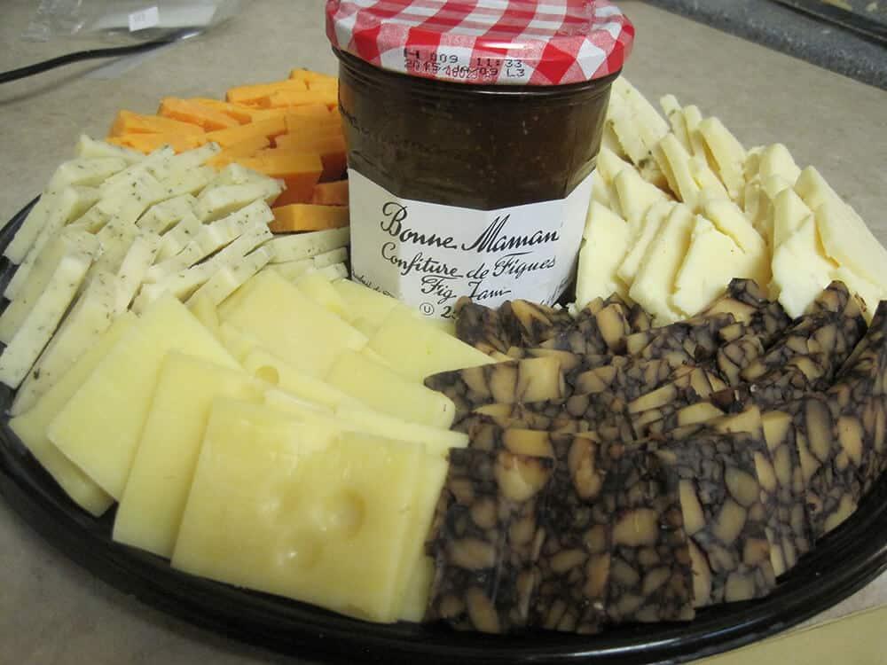 European cheese plate