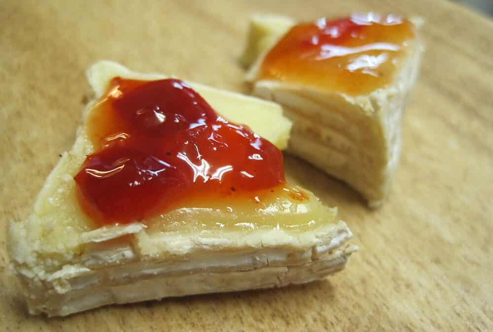 Red Pepper Jelly ~ The cheese doesn't have to stand alone!