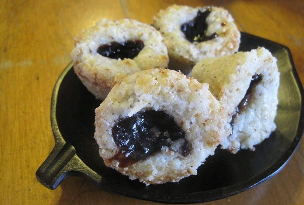 Almond Plum Tarts (Gluten Free)