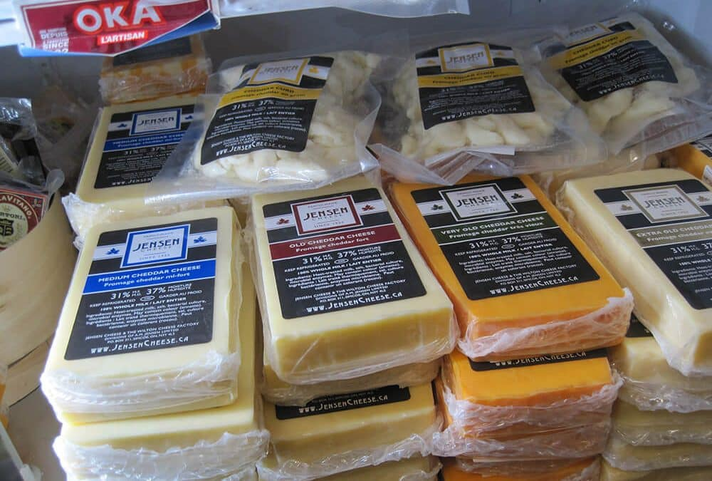 Jensen Cheese – A Welland Market Tradition