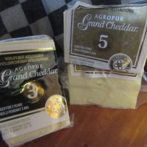 Quebec 3 & 5 year old White Cheddar