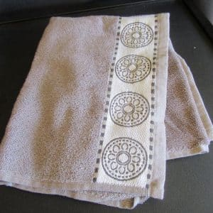 teatowels Grey Lace