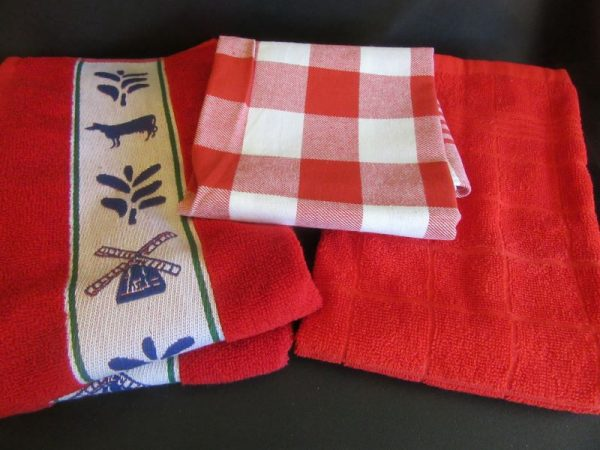 teatowels Red Block