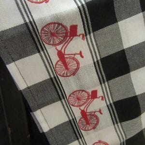 teatowels bicycles