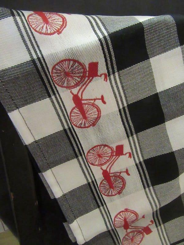 teatowels bicycles