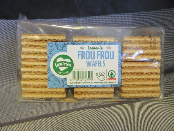 Frou Frou Wafer Cookies