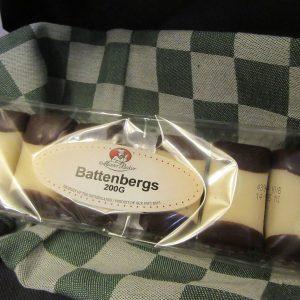 Mergpijpjes - Battenbergs