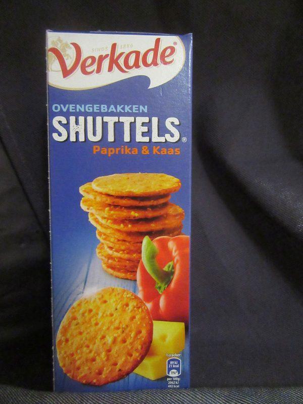 Verkade Paprika & Kaas Shuttels