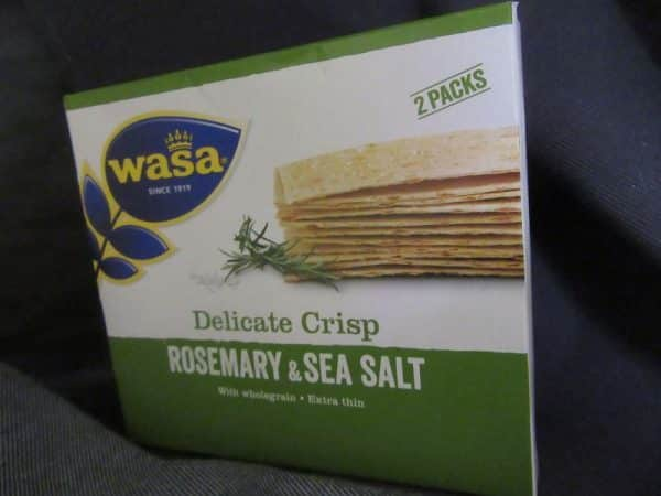 WASA Rosemary & Sea Salt Thins