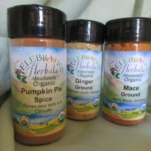 Organic Baking Spices