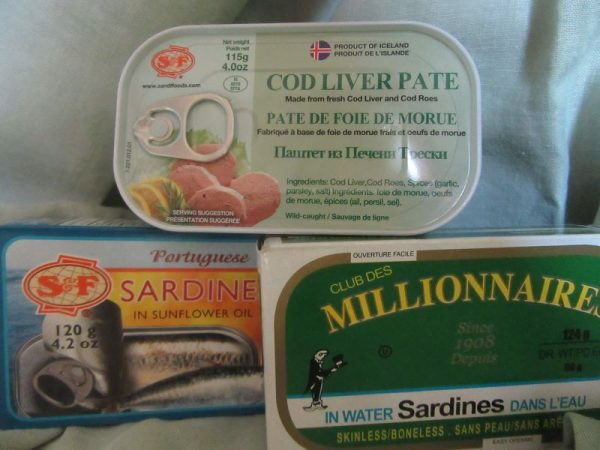 Sardines and Cod Livers