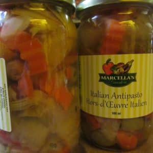 Antipasta Vegetables by Marcella's Garden