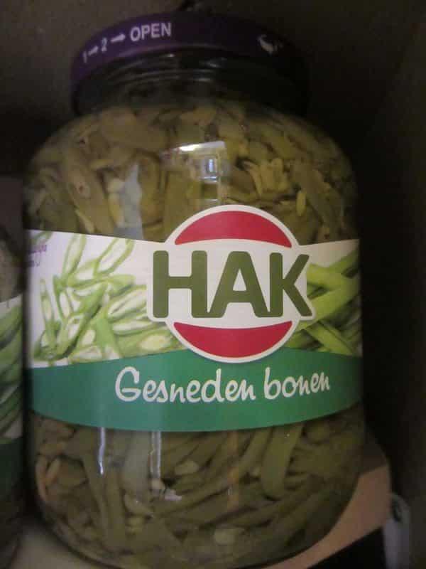 Bean French Cut by Hak