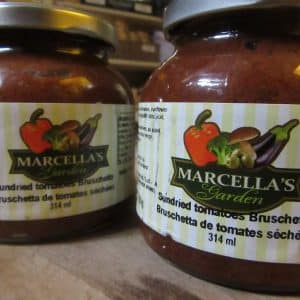 Bruschetta - Sundried Tomatoes by Marcella's Garden