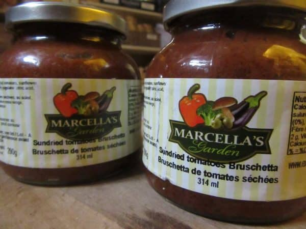 Bruschetta - Sundried Tomatoes by Marcella's Garden
