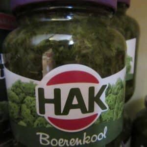 Kale in jar by Hak