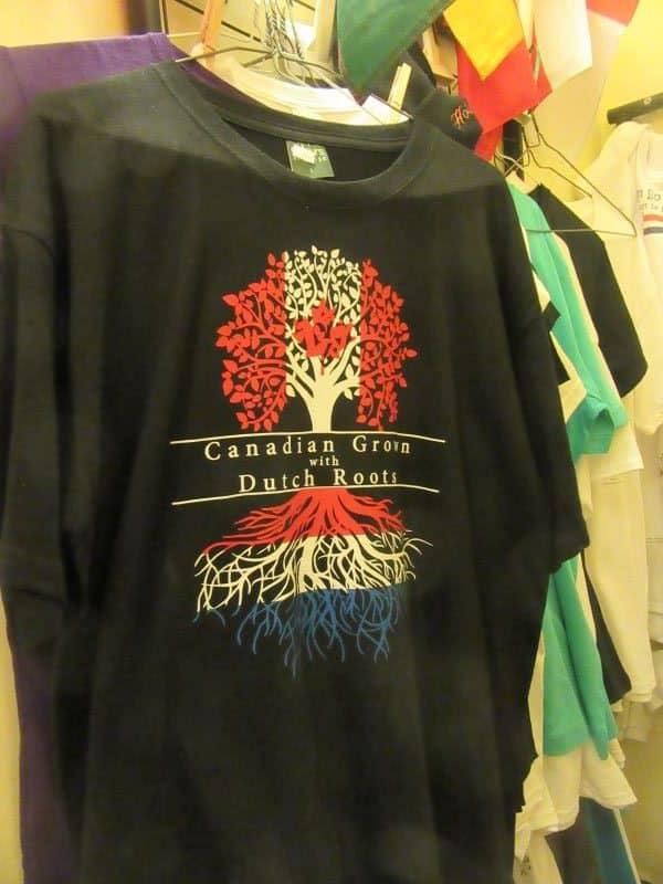 Adult T-Shirt Dutch Roots