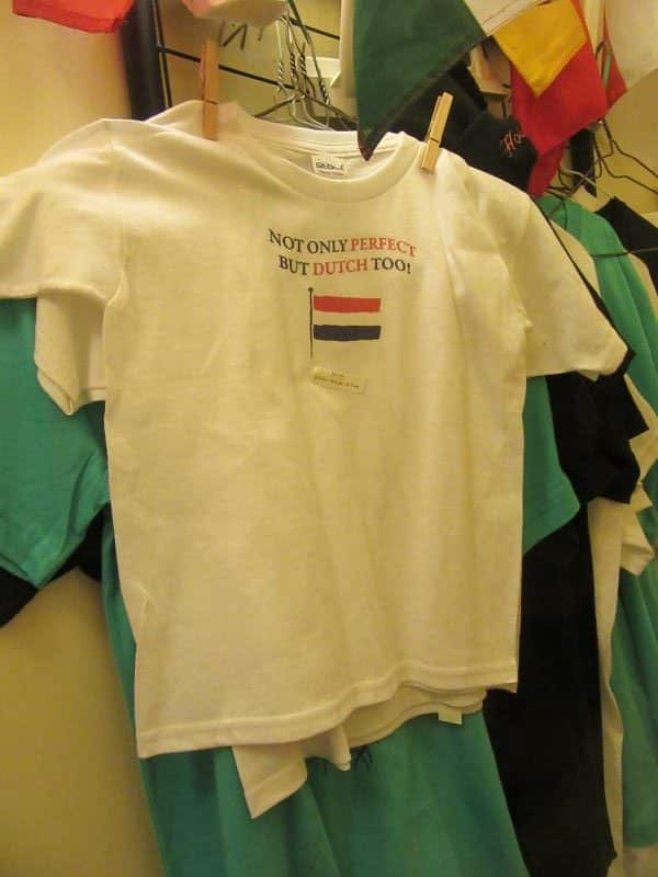 Adult and Child T-Shirts Perfectly Dutch