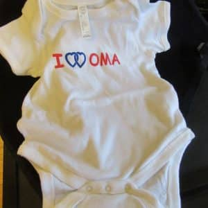 Onesies double love oma