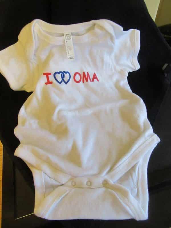 Onesies double love oma