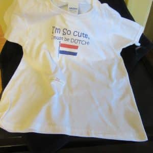 T-shirt Dutch Cutie