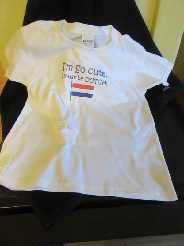 T-shirt Dutch Cutie