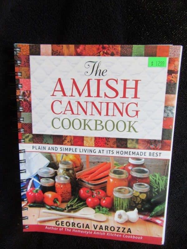 Amish Canning Cookbook