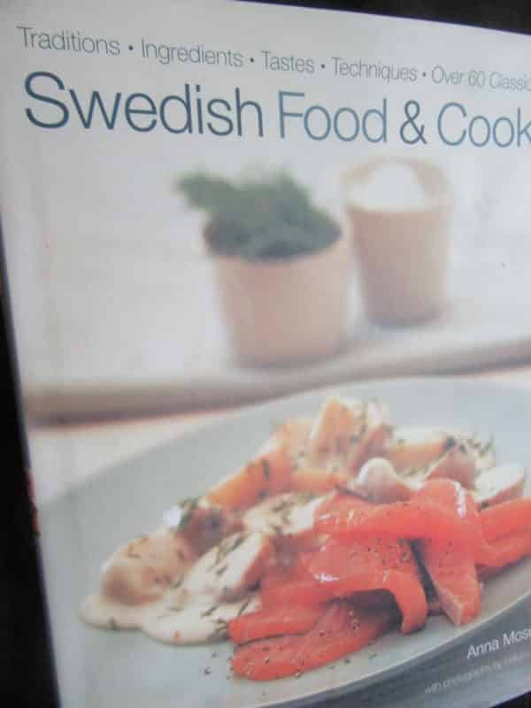 Books Swedish Food and Cooking