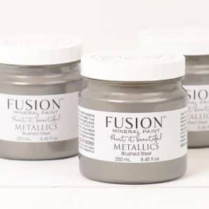 FUSION-metallics brushed steel