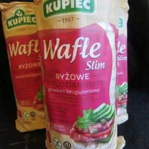 Kupiec Gluten Free Rice crackers