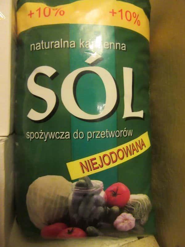 Salt Coarse Natural
