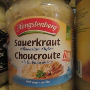 Sauercraut by Hengstenberg