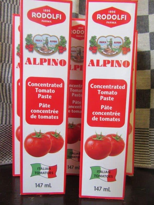 tomato paste by Rodolfi