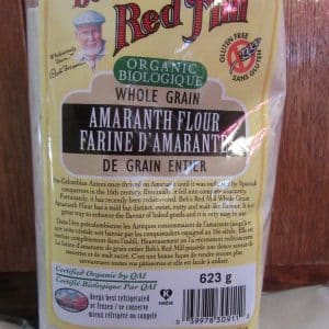 Amaranth flour by Bob's Red Mill