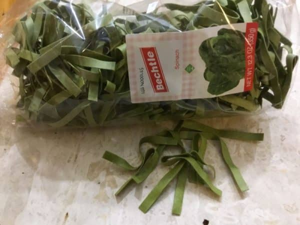 Bechtle Spinach Noodles