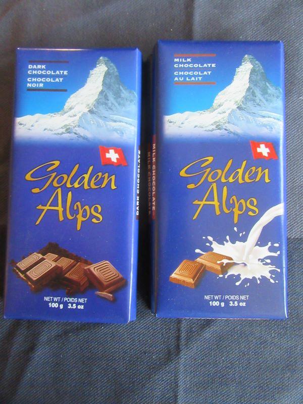 Golden Alps Chocolate