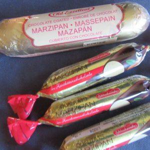 Marzipan bars