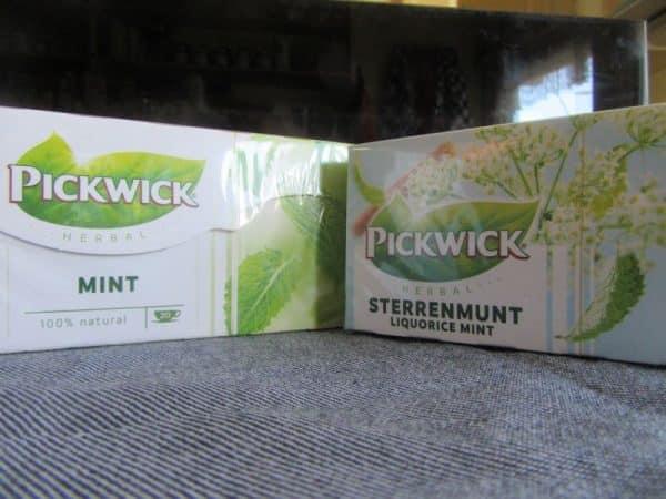 Pickwick Mint Herbal Variations