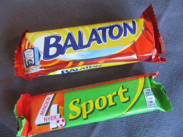 Sport and Balaton Candy Bars