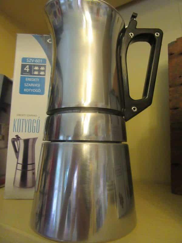 espresso pot Hungary