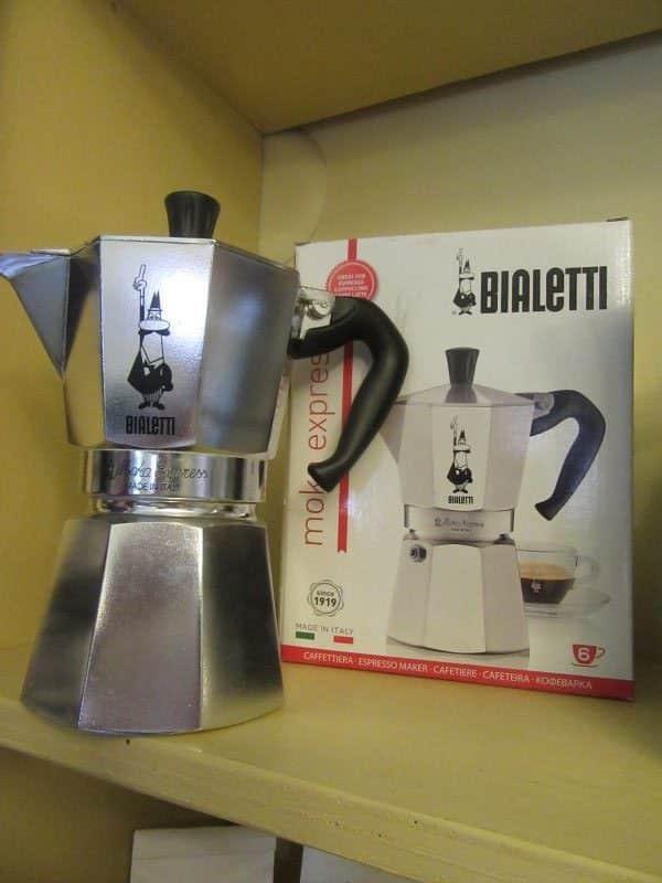 espresso pot Italy