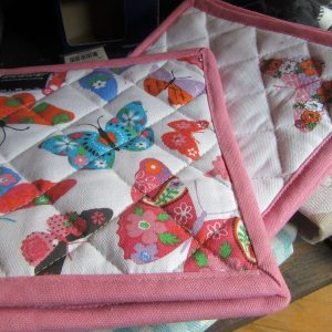butterfly hot pads