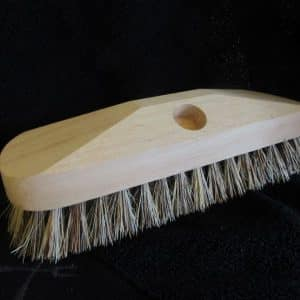 floor-scrub brush