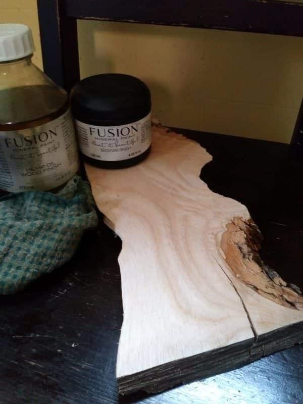 Fusion wood finishes