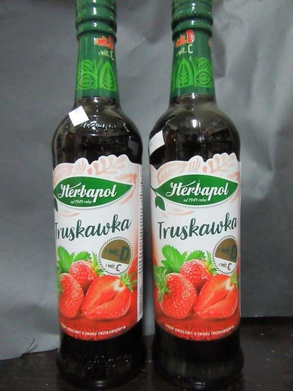 Herbapol strawberry syrup