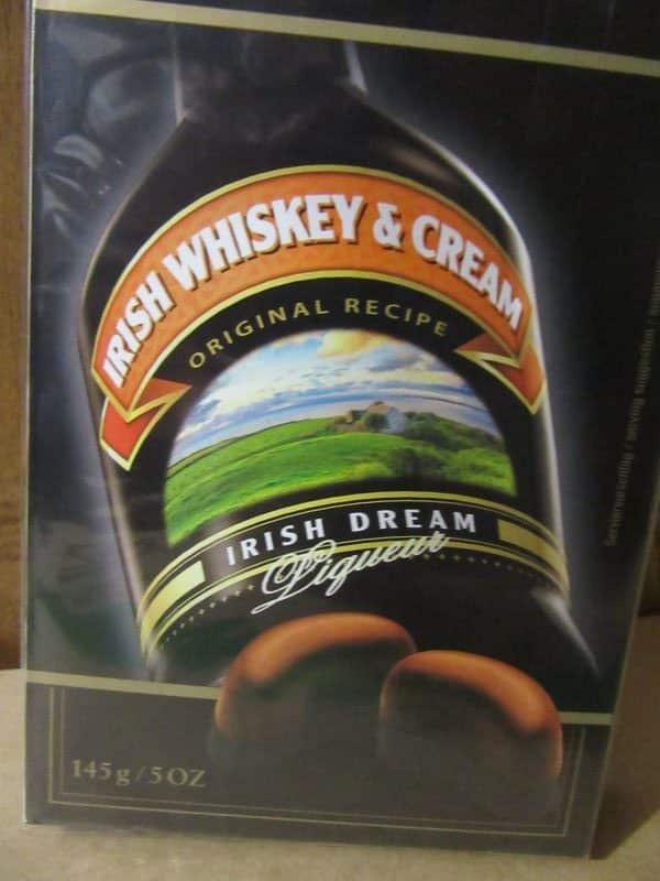 Irish Whiskey and Cream chocolates