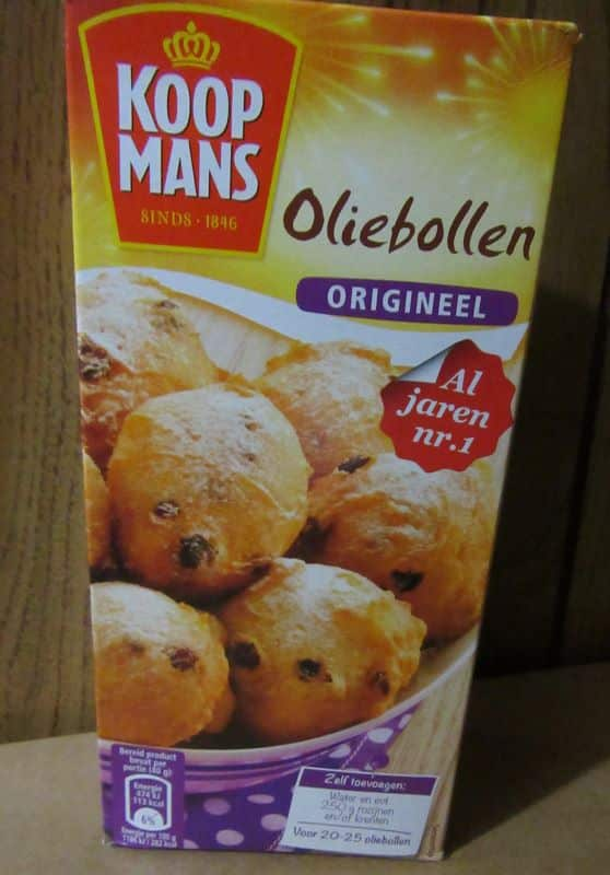 Koopmans Oliebollen Mix The European Pantry