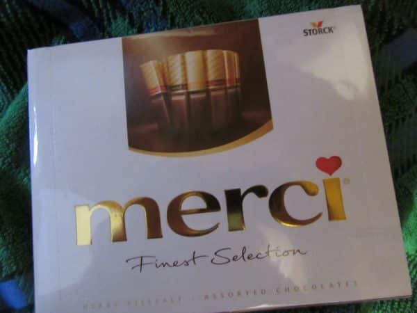 Merci Gift box Chocolate