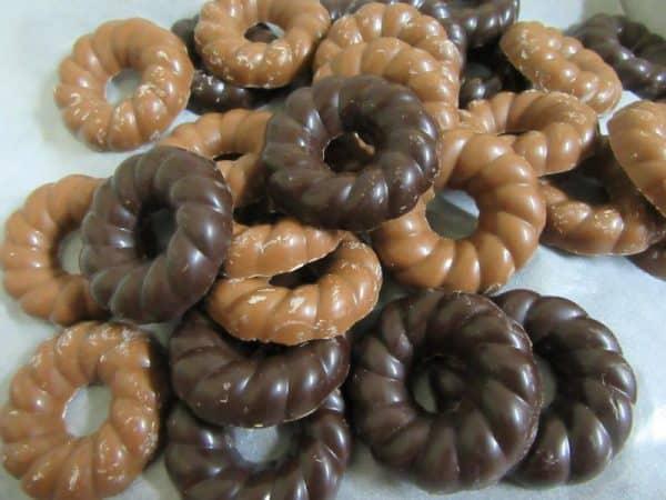 Chocolate Kerstkransjes